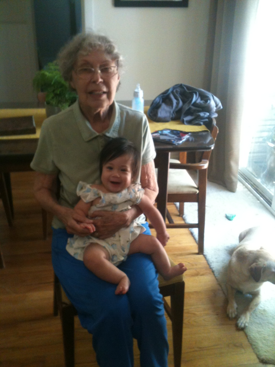 GreatGram and Charlotte